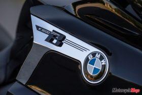 Emblem of the 2018 BMW K1600B Bagger