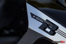 The 2018 BMW K1600B