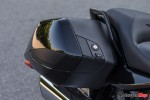Storage Compartment of the 2018 BMW K1600B Bagger