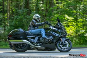 Riding Down the Road with the 2018 BMW K1600B Bagger