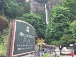 Arriving at Multnomah Falls