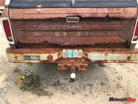 Rusty Truck on a Beach in Oregon