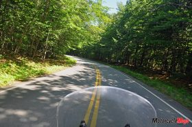 Riding on a Motorcycle in New Hampshire
