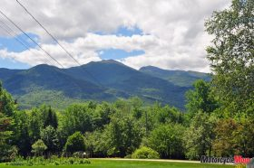 The Long Mountain Range in New Hampshire