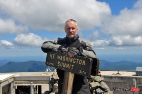 Standing On Top of the Mt. Washington Summit
