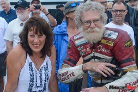 Kathleen Coburn with Dave Roper
