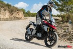Riding The 2018 BMW G310GS on the Sand