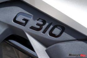The 2018 BMW G310GS Logo