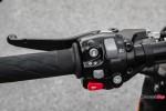 Left Handlebar of the 2018 Triumph Bobber Black