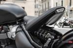 Seat of the 2018 Triumph Bobber Black