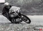 Charles Ingram Riding the Yamaha 125