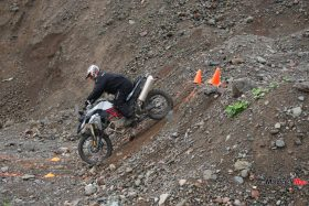 Riding Down Hills At the GS Trophy Qualifier