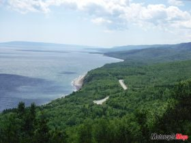 Viewing the Trees of Cabot Trail