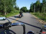 Riding on Cabot Trail