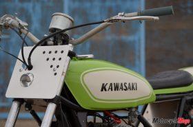 The Front of the Kawasaki S1C