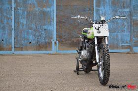 The Kawasaki S1C Motorcycle