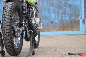 Wheels of the Kawasaki S1C