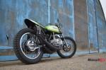 The Kawasaki S1C On a Wall