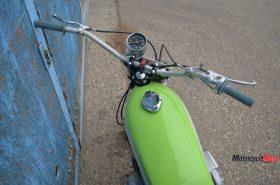 Speedometer of the Kawasaki S1C