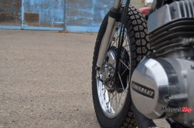 Rear Tire of the Kawasaki S1C