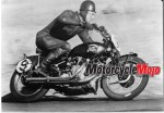 Ehret equalling Geoff Duke outright lap record at Mount Druitt 1955
