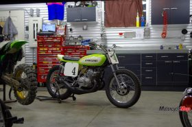 The Kawasaki S1C in the Shop