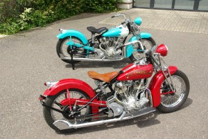 Vintage Motorcycles by Crocker
