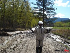 Reaching the End of Deadman Creek Road