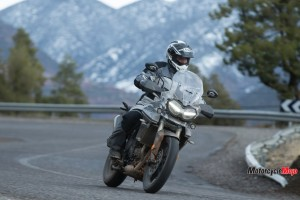Riding the 2018 Triumph Tiger 800 on the Road