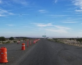 Racing in the Baja 1000