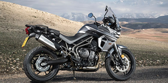 The 2018 Triumph Tiger 800