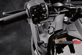 Left Handle of The 2018 Yamaha Venture TC