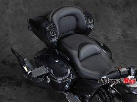 Seat of The 2018 Yamaha Venture TC