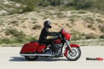 Riding In The Desert On The 2018 Harley Davidson Street Glide