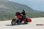 The 2018 Harley Davidson Street Glide on the Highway