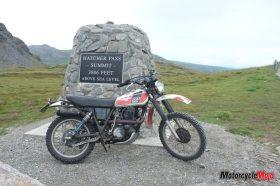 Reaching Hatcher Pass Summit