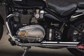 The Engine of the 2018 Triumph Bonneville Speedmaster