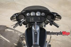 Speedometer of The 2018 Harley Davidson Street Glide