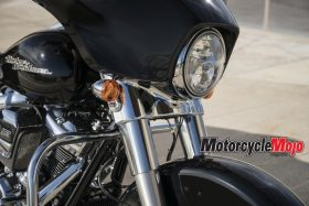 Head Light of The 2018 Harley Davidson Street Glide