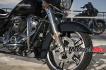 Front Wheel of The 2018 Harley Davidson Street Glide