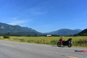 Riding Along Highway 7