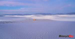 The White Sands in New Mexico
