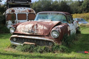 A Rusted Car Found in Allegheny