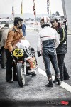 Michel Rougerie talks to H-D_s Ezio Mascheroni at Paul Ricard in April 1975 before finishing 7th in French 500GP
