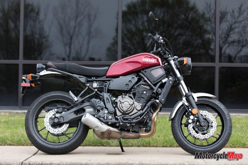 Awesome 2018 Yamaha Xsr700 Motorcycle Review Motorcycle Mojo Magazine Evergreenethics Interior Chair Design Evergreenethicsorg