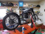 1950 Triumph Restoration