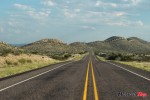 Riding on the Open Road in West Texas
