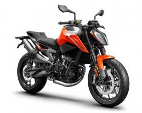 2019 KTM 790 DUKE_right rear orange