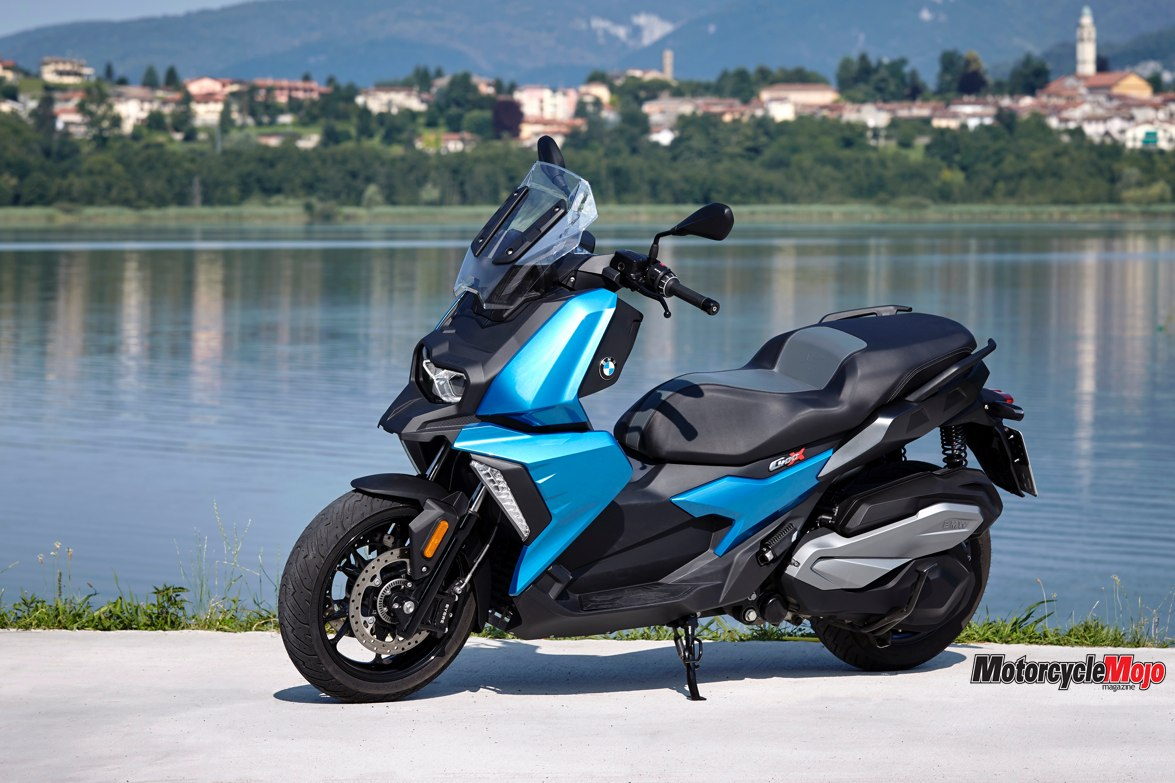 2019 Bmw C400x Scooter Motorcycle Review Motorcycle Mojo