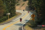Motorcycle Riding on a Highway in Idaho